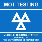 MOT Sign - Repairs and Servicing